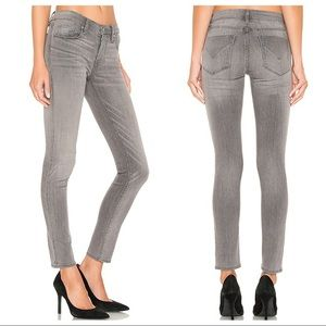 HUDSON Gray Krista Skinny Jeans!